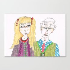 Knitwears Canvas Print
