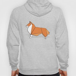 Origami Collie doggie friends Hoody