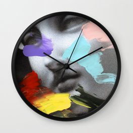 Composition 458 Wall Clock