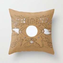 Bugging Out! Throw Pillow