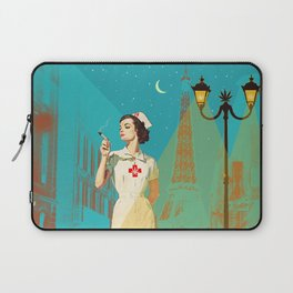 NIGHT NURSE Laptop Sleeve