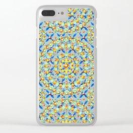 Boho Chic Elizabethan Bijoux Clear iPhone Case