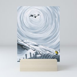 Ingmar Backman - That Backside Air Mini Art Print