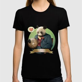 Wise Panda: Love Makes the World Go Around! T-shirt