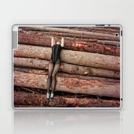 wounded wood Laptop & iPad Skin