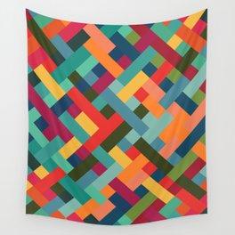 Weave Pattern Wall Tapestry