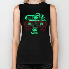 Native American style Tlingit Thunderbird Biker Tank