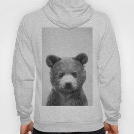 Baby Bear - Black & White Hoody