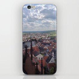 German Village Castle View iPhone Skin