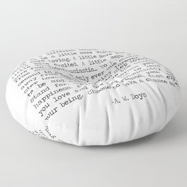 Chances Floor Pillow