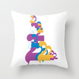 "Alap 28 ""Allap to the 28th Power"" Throw Pillow"