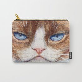 Grumpy kitty 866 Carry-All Pouch