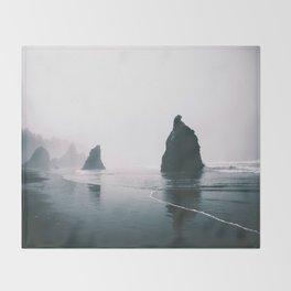 Ruby Beach Throw Blanket