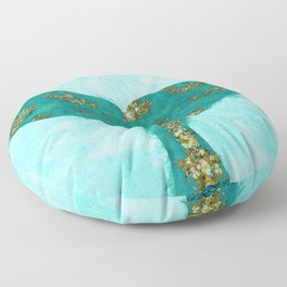 A Mermaid Tail I Floor Pillow