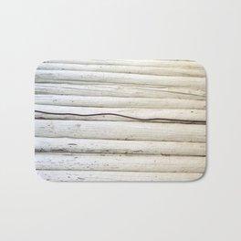 Wire on Wood Bath Mat