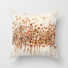 little red Throw Pillow