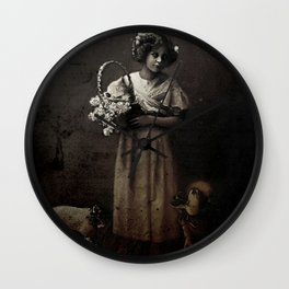 Like Lambs to the Slaughter Wall Clock