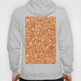 Abstract geometric rose gold glitter pattern Hoody