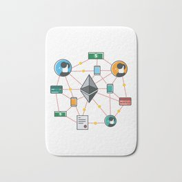 Ethereum Transactions Bath Mat