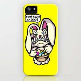 Beaster Bunny iPhone Case