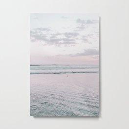 Pastel Beach I Metal Print