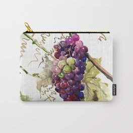 Grapes, California Vineyard Wine Lover design Carry-All Pouch