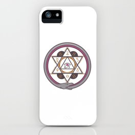 Archaic Elements iPhone Case
