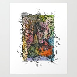 Desire for Change - Complacent in the Same Art Print