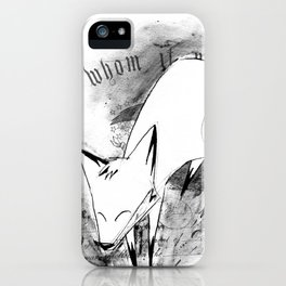 minima - deco fox iPhone Case