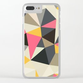 Lemonade Stand Tris Clear iPhone Case
