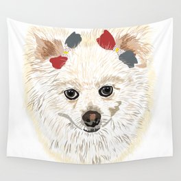 Dog Portrait 1 Wall Tapestry