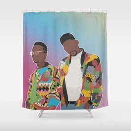 DJ JAZZY JEFF & THE FRESH PRINCE Shower Curtain