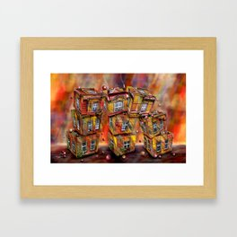 Toyhouse 2 Framed Art Print