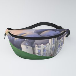Castle in the sunset Fanny Pack