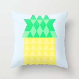Pineapple House Throw Pillow