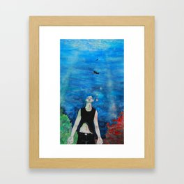 Asphyxiate Framed Art Print