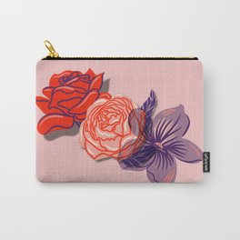 Floral Sweetheart Carry-All Pouch