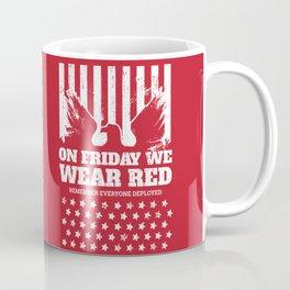 We Wear Red Friday Eagle Coffee Mug
