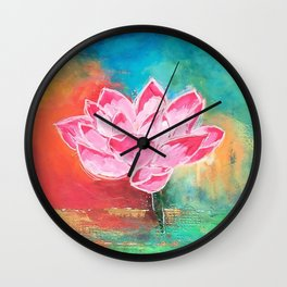 Lotus Lover Wall Clock