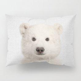 Polar Bear - Colorful Pillow Sham