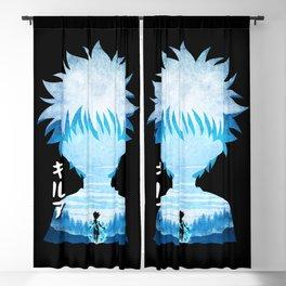 Minimalist Silhouette Killua Blackout Curtain