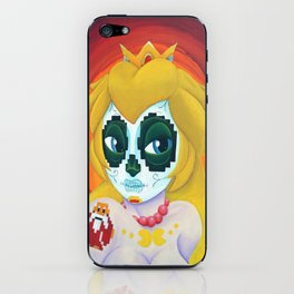Day of the Digital Dead Princess Peach iPhone Skin