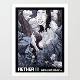 AETHER III Art Print