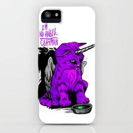 I'm no angel iPhone Case