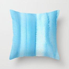 151208 9.Phthalocyanine Blue Throw Pillow