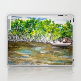 Florida Mangrove Tea Water in the Everglades Laptop & iPad Skin