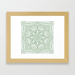 Mandala 23 Framed Art Print