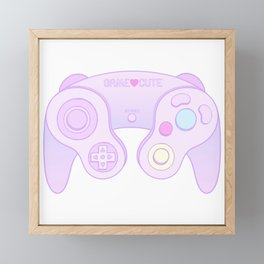 Game Cute Framed Mini Art Print