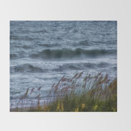 Blowing Sea Oats Throw Blanket