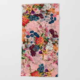 Summer Botanical Garden VIII - II Beach Towel